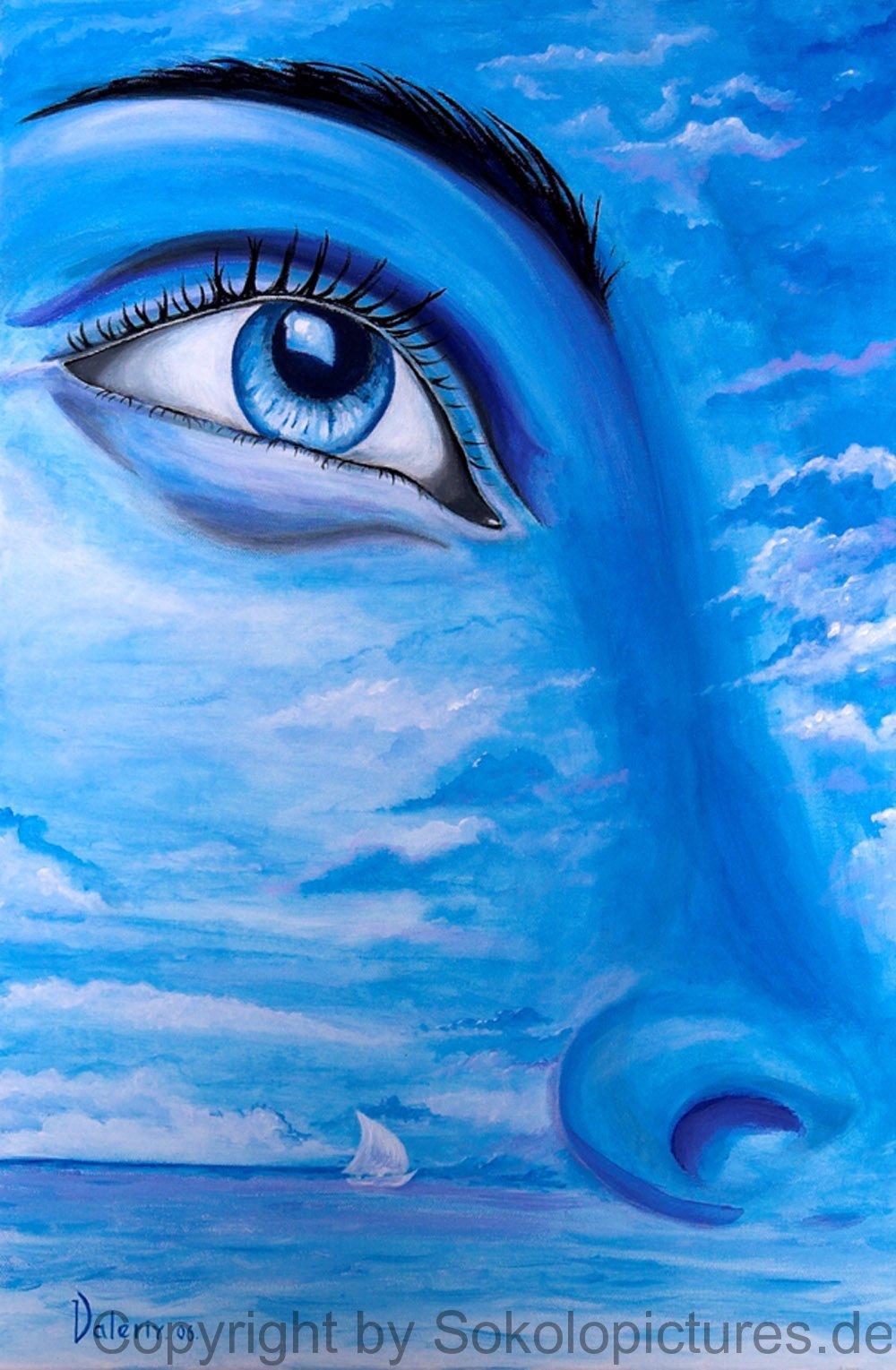 Blaues Auge 1