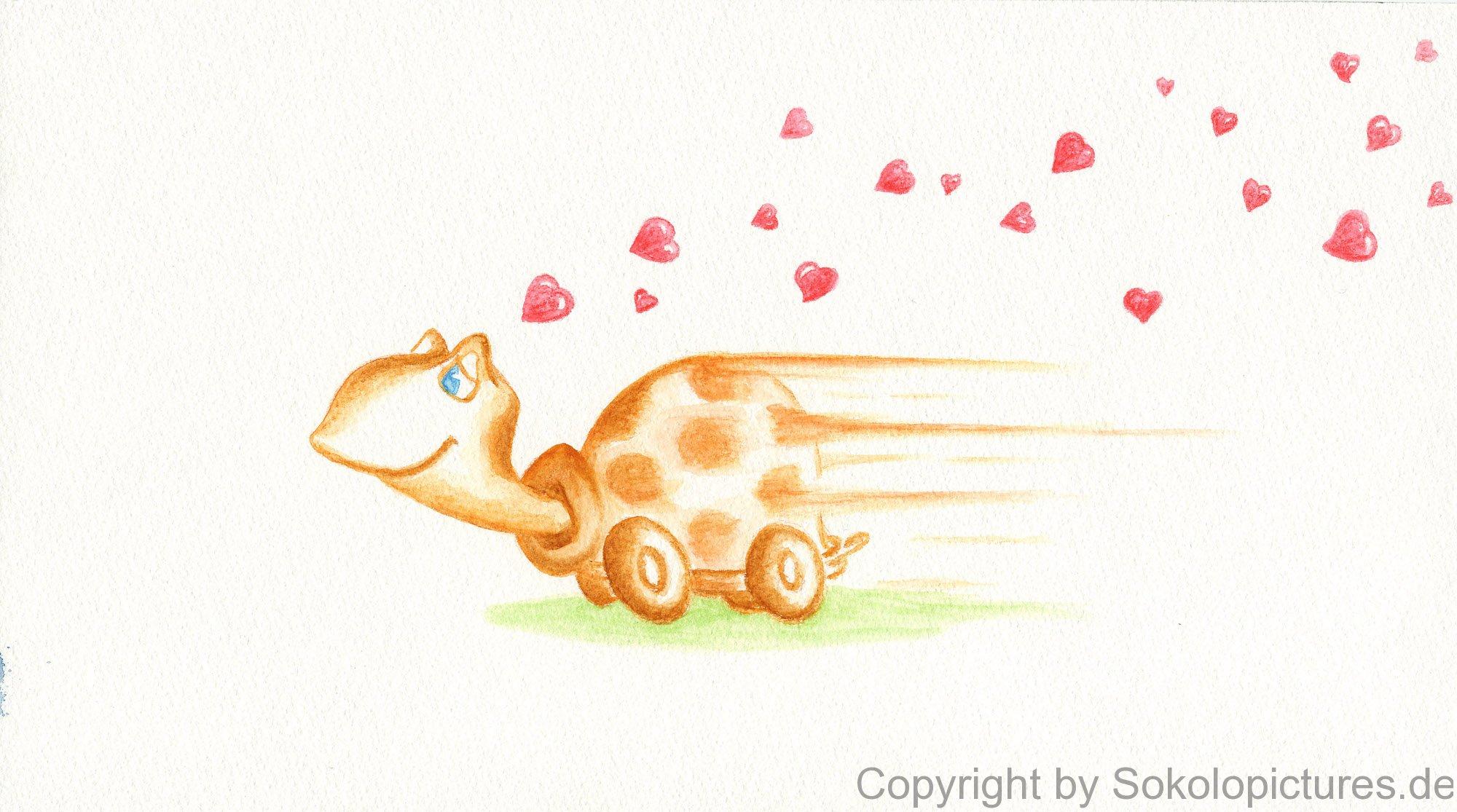 Postkarten zum Thema Liebe